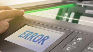 Printer Errors And Their Meaning